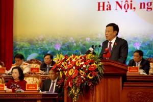 Phát triển sự nghiệp văn hóa, xây dựng người Hà Nội thanh lịch, văn minh, đáp ứng yêu cầu phát triển bền vững của Thủ đô
