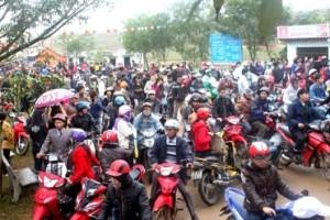 Khai mạc mùa lễ hội chùa Hương Tích 2013
