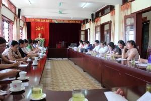 Chương trình làm việc với đoàn công tác Sở Văn hóa, Thể thao và Du lịch tỉnh Hải Dương