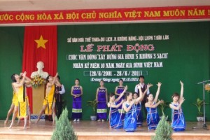 Chương trình thực hiện Phong trào Toàn dân đoàn kết xây dựng đời sống văn hóa trên địa bàn tỉnh, giai đoạn 2011 -2015.