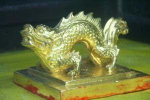 11 chiếc ấn rồng vàng tinh xảo của triều Nguyễn