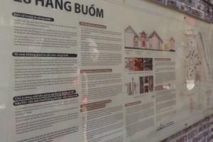 Khai mạc triển lãm giới thiệu Đề án giãn dân khu phố cổ Hà Nội