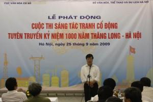 Phát động cuộc thi sáng tác Tranh cổ động tuyên truyền kỷ niệm 1000 năm Thăng Long – Hà Nội