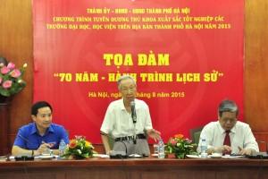 Kỷ niệm 70 năm Cách mạng tháng Tám và Quốc khánh 2-9