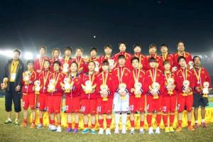 BIDV thưởng đội tuyển bóng đá nữ Việt Nam 300 triệu đồng