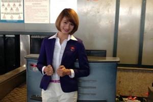 Những hot girl của điền kinh Việt Nam ở SEA Games 27