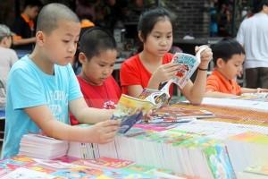 Hội chợ sách và sản phẩm dịch vụ dành cho trẻ em 2015
