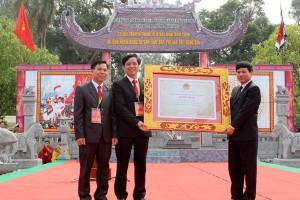 Lễ hội Đền Hát Môn đón nhận Bằng di sản văn hóa phi vật thể quốc gia