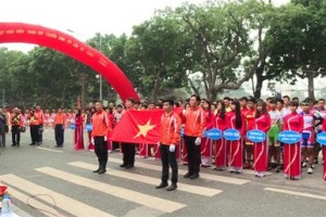 Khai mạc Giải đua xe đạp tranh Cúp truyền hình Thành phố Hồ Chí Minh lần thứ 28