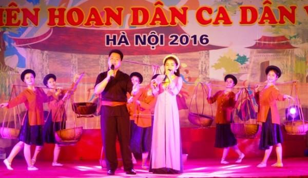 Dân ca Vĩ dặm của huyện Thanh Oai.
