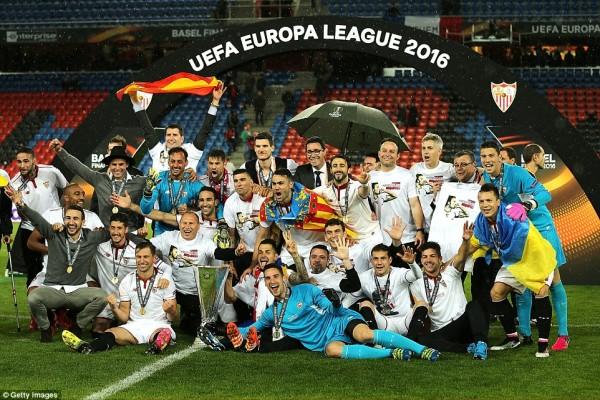 Sevilla đăng quang Europa League mùa giải 2015-16