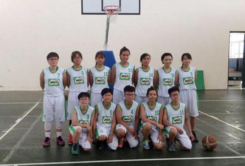 Đội nữ bóng rổ THPT Hà Nội