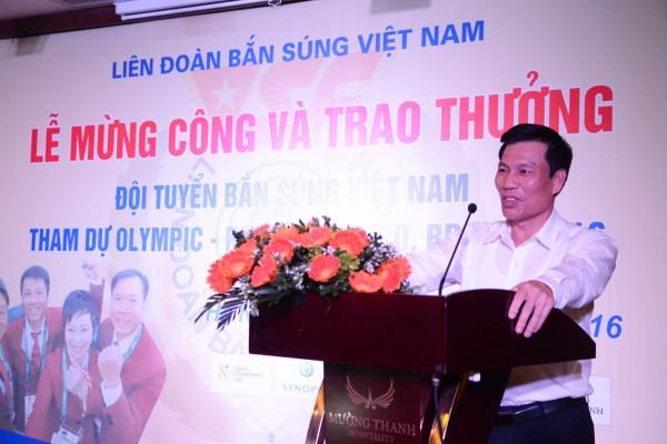 Bộ trưởng Nguyễn Ngọc Thiện phát biểu tại buổi lễ