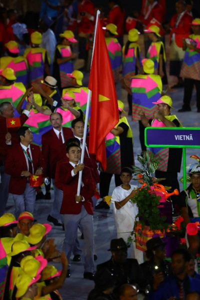 Đoàn Việt Nam xếp thứ 48/206 quốc gia tham dự Olympic 2016