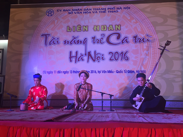 Nguyễn Thu Thảo (Giáo phường Ca trù Thái Hà) - Giải Tài năng xuất sắc