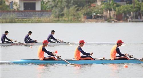 Hà Nội vẫn chứng tỏ thế mạnh ở môn rowing