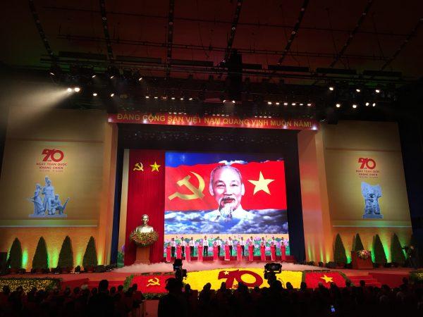 Hà Nội đã tổ chức thành công lễ mít tinh cấp quốc gia kỷ niệm 70 năm Ngày Toàn quốc kháng chiến