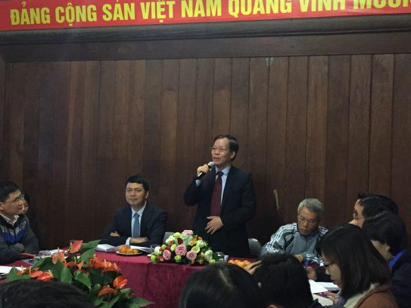 Ông Trương Minh Tiến – Phó GĐ Sở VH&TT Hà Nội