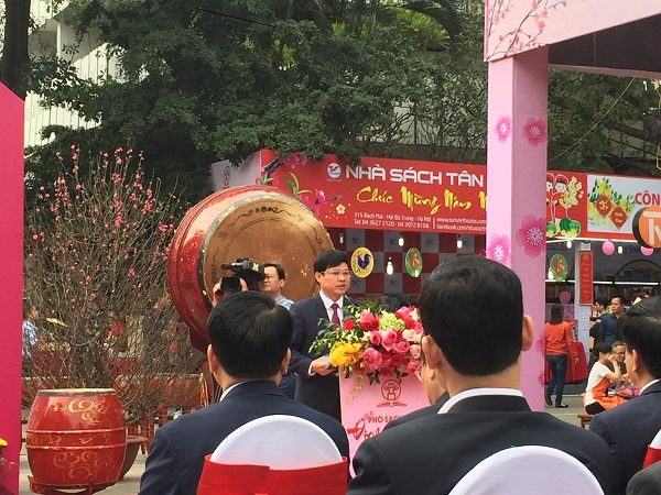 Phó Chủ tịch UBND TP Ngô Văn Quý phát biểu khai mạc