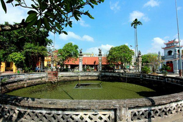Đình làng Hạ Thái - Ảnh: Hồng Hạnh