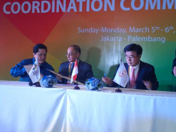 Phiên họp của Ủy ban phối hợp Ủy ban Olympic châu Á cho Đại hội thể thao châu Á lần thứ 18 tổ chức hôm 6/2