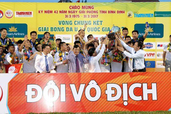 U19 Hà Nội vô địch Giải Bóng đá U19 quốc 2017