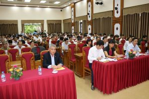 Quốc Oai tổ chức Hội nghị tuyên truyền thực hiện  tang văn minh tiến bộ
