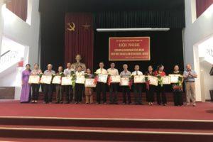 Thanh Trì tổ chức Hội nghị tuyên dương Gia đình văn hóa tiêu biểu năm 2018