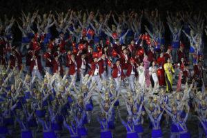 Lễ khai mạc ASIAD 18: Hoành tráng và ấn tượng