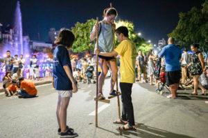 Chung kết Olympic và Ngày hội Trải nghiệm trò chơi dân gian Việt Nam