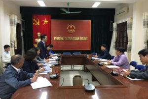 Kiểm tra việc thực hiện 02 Bộ Quy tắc ứng xử trên địa bàn quận Thanh Xuân