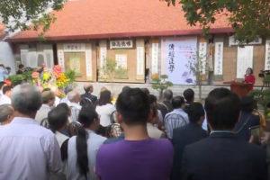 Trưng bày hơn 100 tác phẩm thư pháp tại chùa Mễ Trì Thượng (Hà Nội)