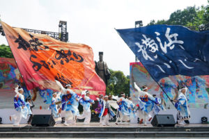 Nhiều hoạt động tại lễ hội Kanagawa trên phố đi bộ hồ Gươm