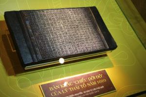 Trưng bày hơn 60 hình ảnh, tài liệu, hiện vật về Hoàng thành Thăng Long qua Mộc bản Triều Nguyễn