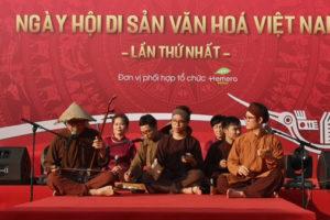 """Thưởng thức âm hưởng """"nghìn xưa vọng lại"""" tại Ngày hội Di sản văn hóa Việt Nam lần thứ nhất"""