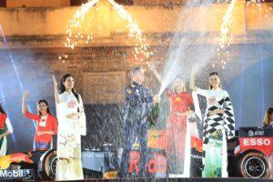 Chương trình nghệ thuật chào mừng Hà Nội – Việt Nam đăng cai Giải đua xe F1