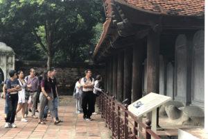Văn Miếu-Quốc Tử Giám vẫn là điểm đến hút khách du dịch năm 2018