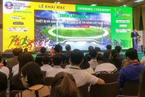 """Triển lãm quốc tế """"Thiết bị và sản phẩm thể thao"""" – Cầu nối đưa kinh tế thể thao Việt Nam hội nhập"""