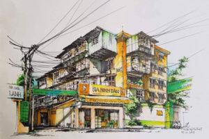 Tập thể cũ Hà Nội – Ký họa và Hồi ức