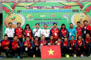Đại hội Thể thao sinh viên Đông Nam Á lần thứ 19: Điền kinh giành 3 HCV trong ngày thi đấu đầu tiên
