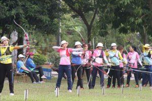 Môn Bắn cung Đại hội Thể thao toàn quốc 2018: Hà Nội tạm dẫn đầu với 2 HCV