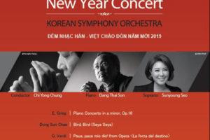 Đêm nhạc Hàn -Việt chào đón năm mới 2019