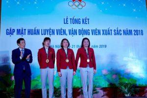 'Thể thao Việt Nam có một năm 2018 thành công'