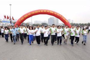 Phấn đấu đạt 85% xã, phường, thị trấn trên toàn quốc tổ chức Ngày chạy Olympic Vì sức khỏe toàn dân năm 2019