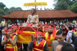 Lễ kỷ niệm 345 năm ngày sinh và trao tượng đồng Danh nhân Nguyễn Quý Ân