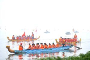 Nâng tầm Lễ hội bơi chải Thuyền rồng Hà Nội mở rộng năm 2019
