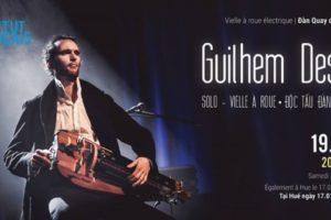 Độc tấu Đàn quay với nghệ sĩ Pháp Guilhem Desq