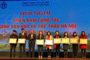 Ngành Văn hóa và Thể thao Hà Nội phát động phong trào thi đua năm 2019