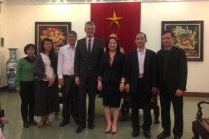Sở Văn hóa và Thể thao làm việc với Trung tâm Văn hóa Pháp tại Hà Nội