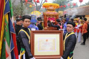 Lễ hội làng Triều Khúc đón nhận Bằng Di sản Văn hóa phi vật thể quốc gia